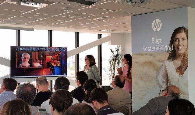 Presentación del Informe de Impacto Sostenible 2018 de la compañía HP