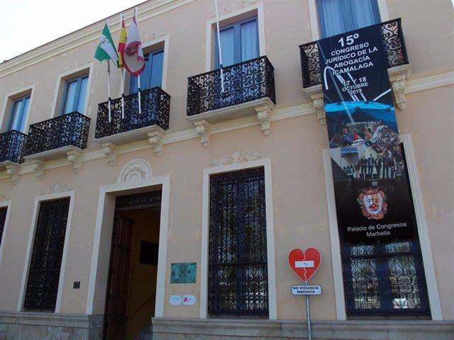 Fachada sede del Colegio de Abogados de Málaga