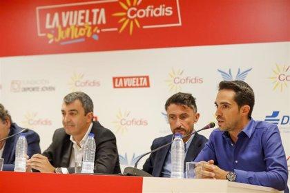 La IX Vuelta Junior Cofidis se refuerza con el 'fichaje' de la Fundación Alberto Contador