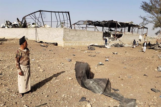 Ataque aéreo en Yemen
