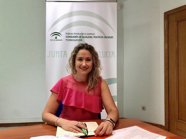 La asesora del IAJ en Almería, Rosa Maldonado
