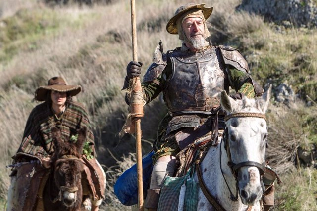 El hombre que mató a Don Quijote, la película que Terry Gilliam