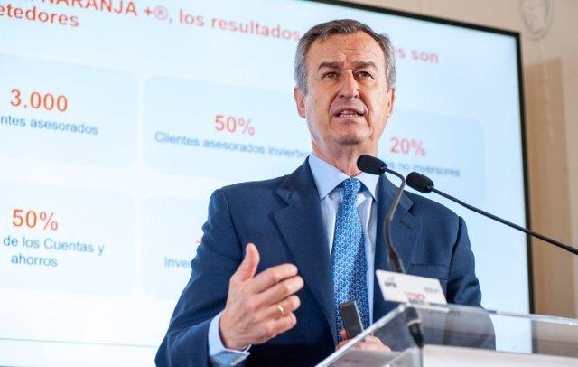 El consejero delegado de ING, César González Bueno.