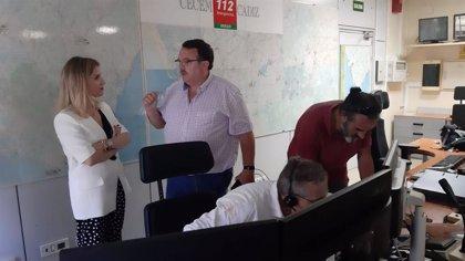 """La empresa Indorama informa que no hay heridos en el incendio y 112 pide mantener la """"calma"""" en San Roque (Cádiz)"""