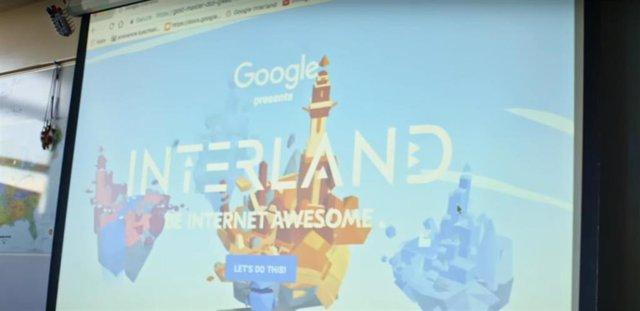 Herramienta del programa 'Sé genial en Internet' de Google