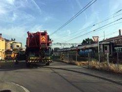 Comencen a retirar els trens accidentats a Vacarisses i Castellgalí (ACN)