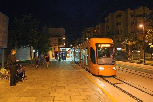 TRAM d'Alacant, imagen de archivo.