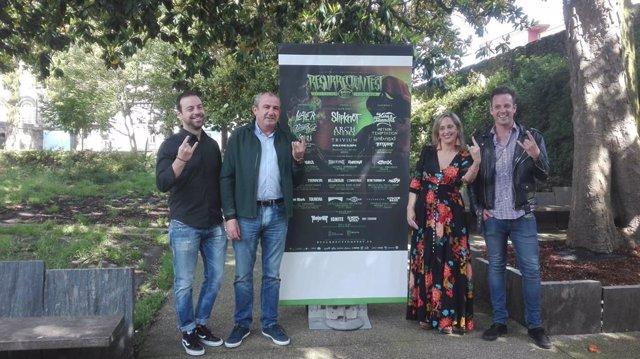 El Resurrection Fest espera reunir a más de 100.000 personas en Viveiro (Lugo).