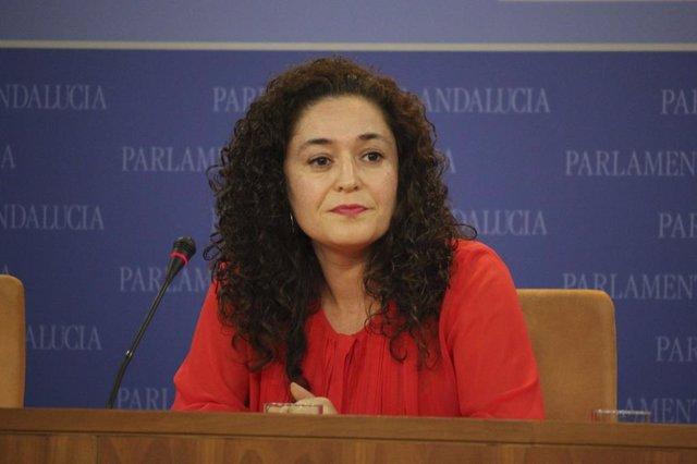 Inmaculada Nieto, portavoz de Adelante Andalucía