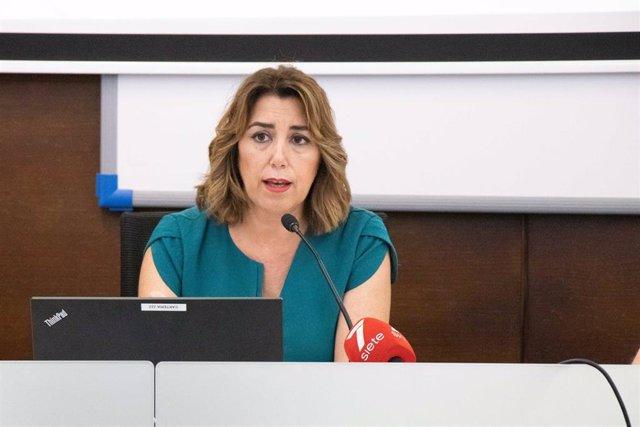 Susana Díaz, en los Cursos de Verano de la UPO