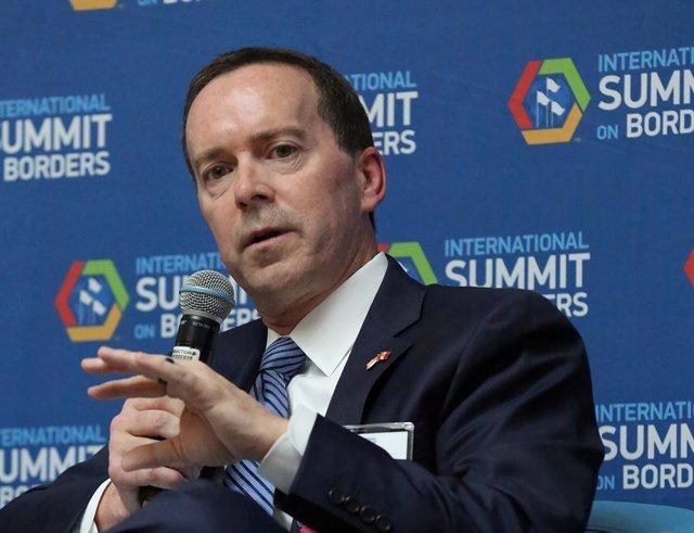 El director de la Agencia de Aduanas y Protección Fronteriza (CBP) de Estados Unidos,  John Sanders