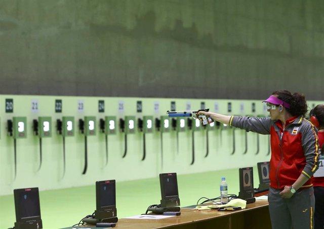Sonia Franquet en los Juegos Olímpicos de Río de Janeiro