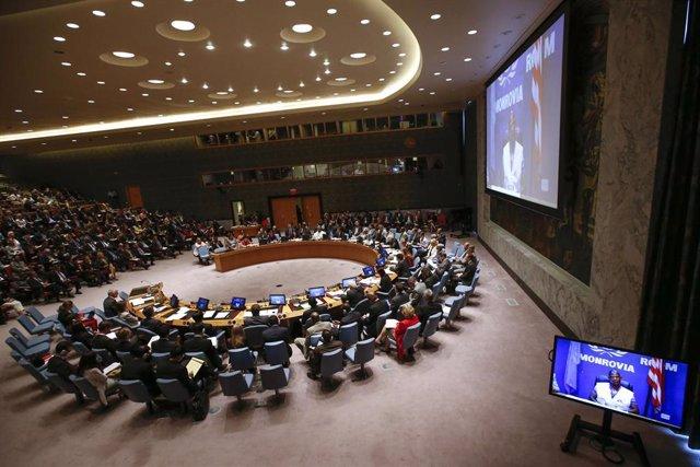 El Consejo de Seguridad de la ONU reunido en Nueva York
