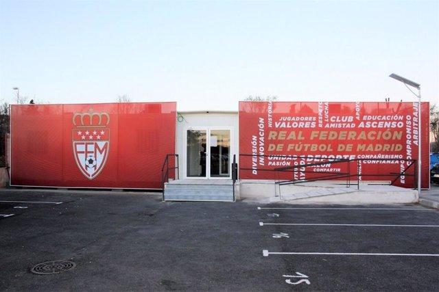 Sede de la Real Federación de Fútbol de Madrid (RFFM).