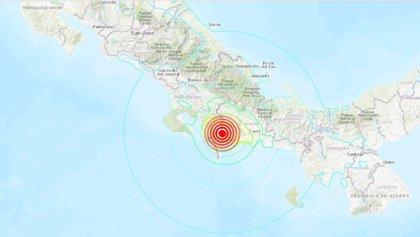 Un terremoto de 6,3 grados sacude la frontera entre Panamá y Costa Rica