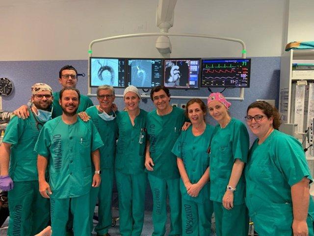 El Hospital Virgen De La Victoria Cumple Veinte Años De Experiencia En La Utilización De Técnicas Endovasculares Para El Tratamiento Reparador De La Aorta Torácica