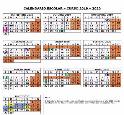 El curso escolar comenzará en Madrid el 6 de septiembre en escuelas infantiles, el 9 en colegios y el 10 en institutos