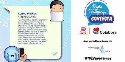 Lanzan la campaña #TEAyudamos para recaudar fondos para luchar contra el ciberbullying