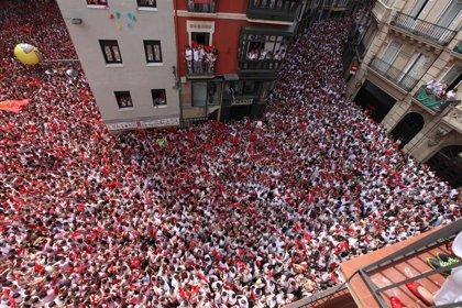 Las elecciones, Osasuna y La Pamplonesa, entre los temas de las pancartas de los Sanfermines de 2019
