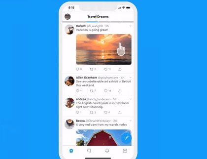 Twitter prueba líneas de tiempo personalizables con acceso directo a las listas