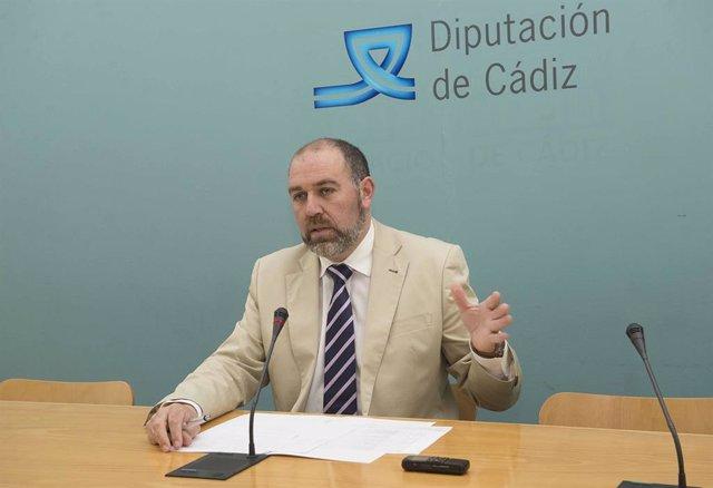 Jesús Solís, diputado de Servicios Económicos de la Diputación de Cádiz