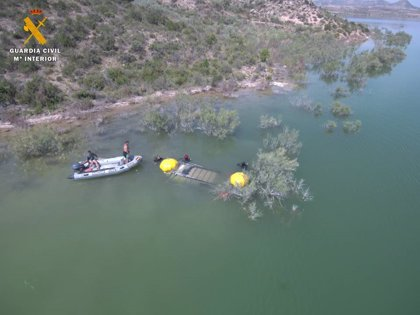 La Guardia Civil recupera el cadáver, en el pantano de Civán, de un británico desaparecido en marzo