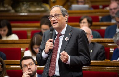 """Torra: """"És hora de saber què vol el Govern espanyol per a Catalunya"""" (EUROPA PRESS)"""