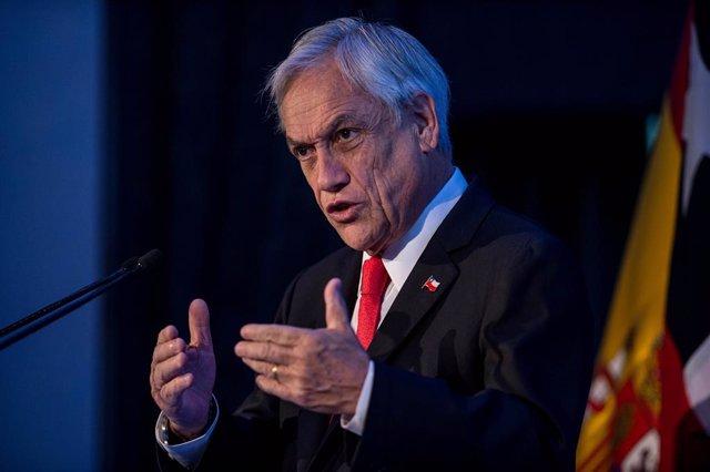 El presidente de la República de Chile, Sebastián Piñera