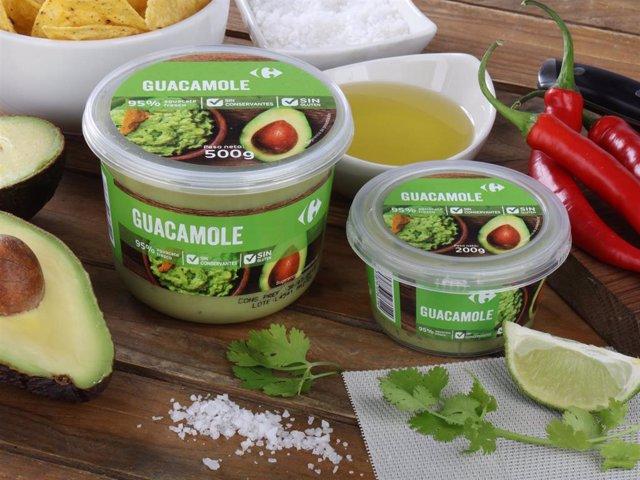 Málaga carrefour guacamole agricultura alimentación gastronomía sin gluten sin conservants aguacate producto