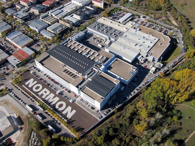 Nuevo complejo industrial del laboratorio Normon en Tres Cantos (Madrid)