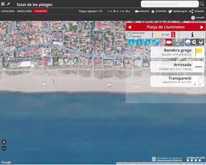Muere un hombre de 59 años al ahogarse en una playa de Castelldefels (Barcelona)