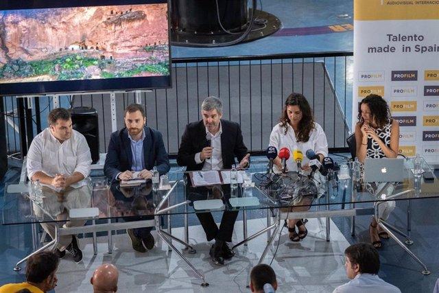 [Grupocanarias] [Medios Todos Pres] Canary Islands Film Se Une A Las Empresas De 'Service' Que Atraen Más Producciones Internacionales A España