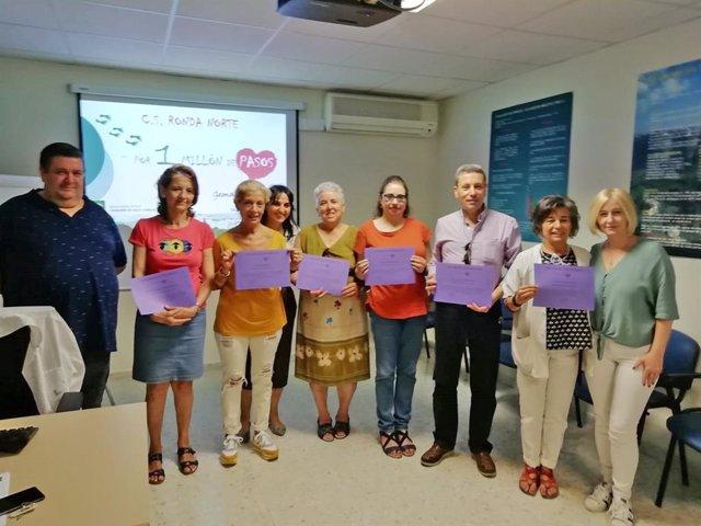 Nota Prensa Ags Serranía De Málaga Millón De Pasos Centro Salud Ronda Norte