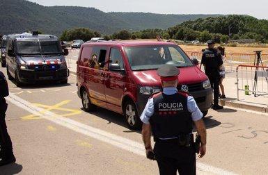 Els polítics sobiranistes presos ingressen a les presons catalanes de destinació (David Zorrakino/Europa Press)