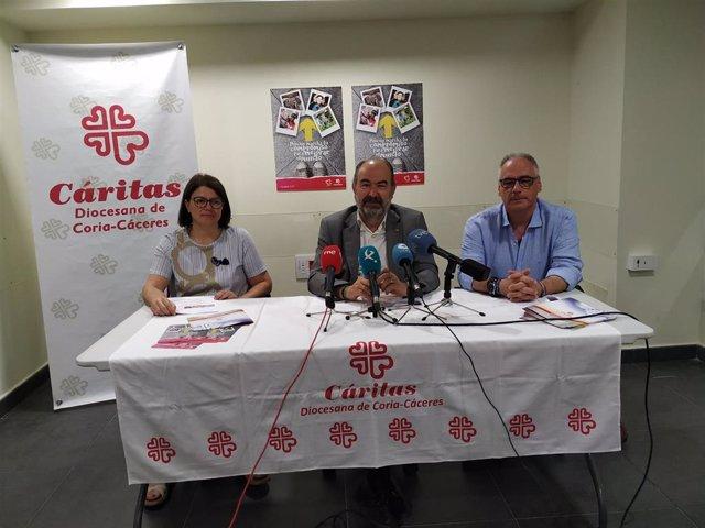 Presentación de la Memoria 2018 de Cáritas de Coria-Cáceres