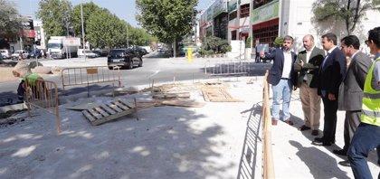 Las obras de rehabilitación integral del polígono Európolis de Las Rozas finalizarán en otoño