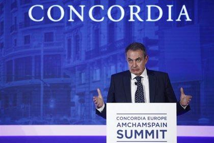 """Zapatero avisa de que """"cada guerra comercial es un riesgo para una guerra de otro tipo"""""""