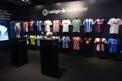 LaLiga abre su fan zone en Rio de Janeiro para celebrar sus 90 años