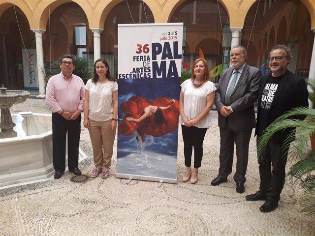 Autoridades en la presentación de la Feria de Artes Escénicas de Andalucía