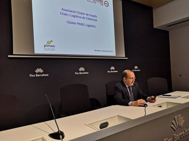 El presidente de Pimec Logística, Ignasi Sayol