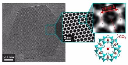 Nueva tecnología metal-orgánica exhibe eficacia en captura de CO2