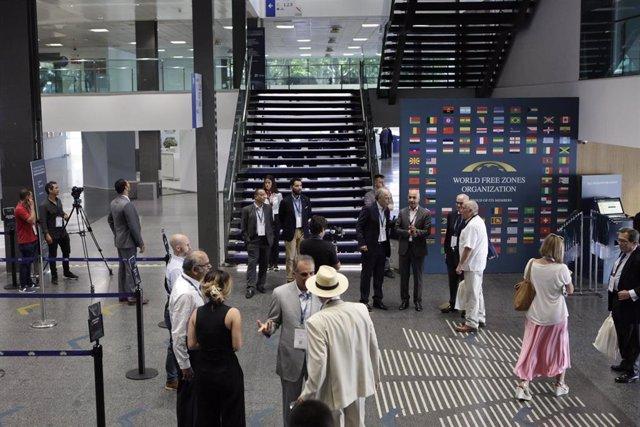 Primera jornada del V Congreso Mundial de las Zonas Francas