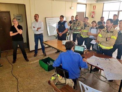Se elevan a 3.500 las hectáreas afectadas por el fuego de Torre de l'Espanyol