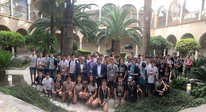 Reyes inaugura la XXX Olimpiada Matemática Nacional, cuya fase final se celebra en la provincia de Jaén