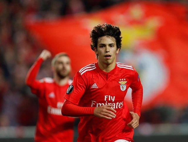Joao Félix con el Benfica