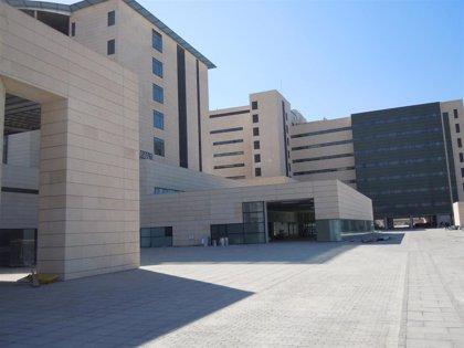 Evacuado al hospital un operario afectado por humo en el incendio de una planta reciclaje en Armilla (Granada)