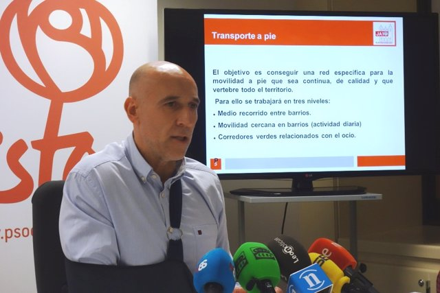 El candidato a la Alcaldía de León, José Antonio Diez.