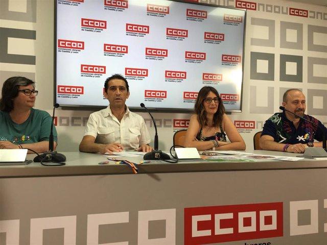 Yolanda Rodríguez, Vicente Andrés, Yolanda Martín y José María Domingo