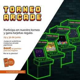 Los Arcos se convierte este fin de semana en un 'Salón Arcade' con distintos torneos para jugar en familia