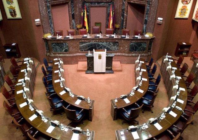 Imagen de la Asamblea Regional vacía